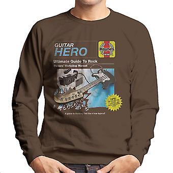 Haynes Guitar Owners Workshop Manual Men's Sweatshirt