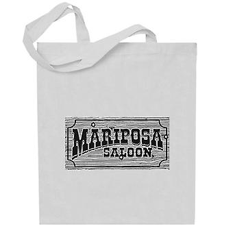 Mariposa Saloon Sweetwater Westworld Black Totebag