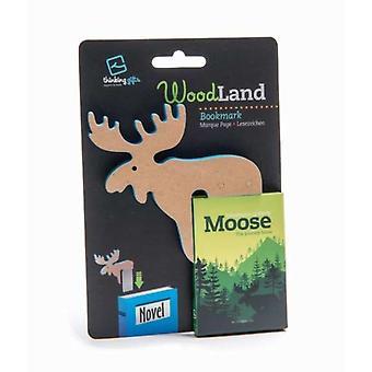 Woodland Animal Bookmark Moose