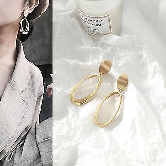 Matte Gold Multi Hoop Earrings