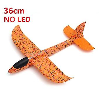 Big Good Quality 48cm Led Hand Launch Throwing Airplane Glider-  Aircraft Inertial Foam Epp Toy Children