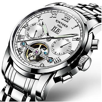 Mekanisk ur i rustfrit stål