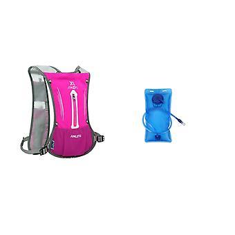 Åndbar vandtæt rygsæk til løb og ridning