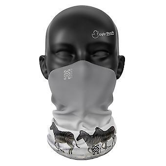 Galloping Zebra Snood Face Mask Scarf Neckerchief Head Covering Tube Warmer Buff