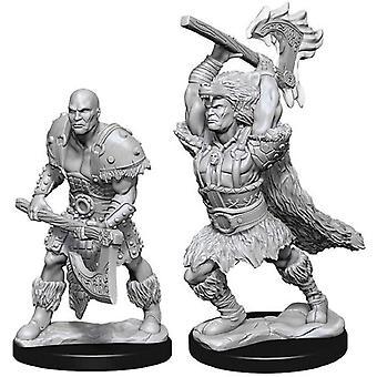 (W10) Donjons & Dragons Nolzur's Wonderful Unpainted Miniatures Male Goliath Barbarian
