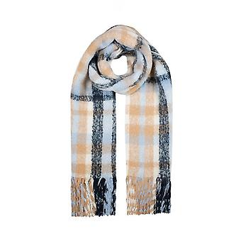 Bold Checked Blanket Scarf