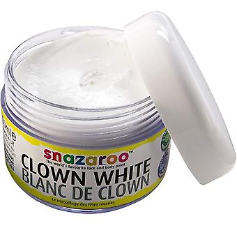 Snazaroo Body And Face Painting Tub 50ml - Clown White (1198200)