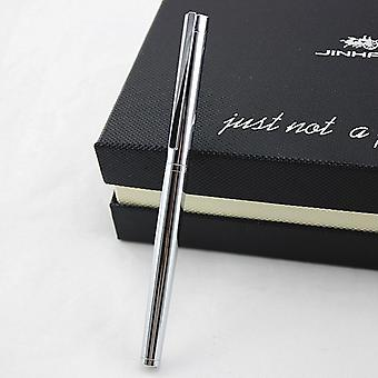 Metal Ink Fountain Pen, Nib Standard For Office And School Stationery