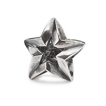 Trollbeads Sterling Silver Capricorn Star Bead TAGBE-00270