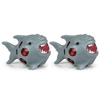 Tobar 36473 Shark World Squishy Mesh Ball - 2 Packs