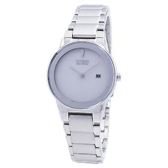 المواطن Eco drive Axiom Analog Ga1050-51a Women's Watch