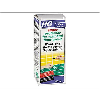 HG Super Protect Wall & Floor Grout 250ml
