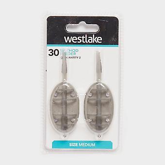 New Westlake 30G Standard Method Feeder 2Pk Silver