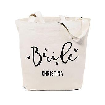 Braut-Baumwolle Canvas Einkaufstasche