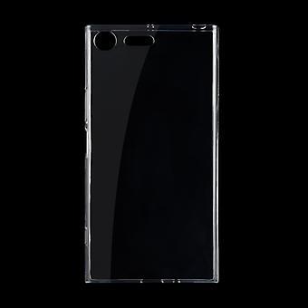 Für Sony Xperia XZ Premium 0,75 mm ultradünne transparente TPU Schutzhülle (Transparent)