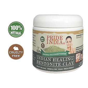 Indian Healing Bentonite Clay Natural Face Mask Powder