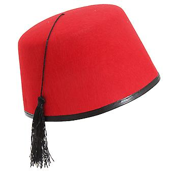Henbrandt red fez hat