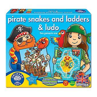 Orchard Toys pirat ormar och stegar & Ludo