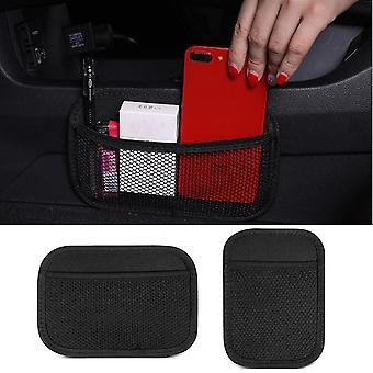 Universal Car Storage Bag Net Pocket Car Seat Organizer