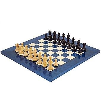 Fierce Knight Blue Chess Set