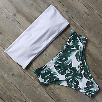 Women Swimsuit High Waist Bikini Set Bathing Suit