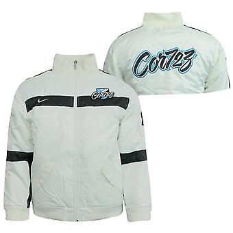 Nike Baseball Juniors Boys Zip Up Bomber Jacket Coat Off White 237623 110 X30A