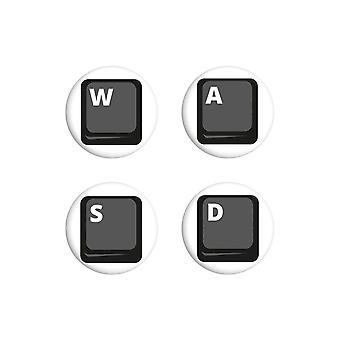 Grindstore PC Gamer Direction Keys Badge Set (Pack de 4)