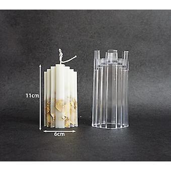 Blume Kerze Schimmel Diy handgemachte Aromatherapie Kerze Formen für Gips Kerze