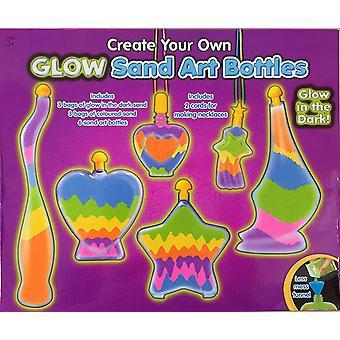 Glow in the Dark Make Your Own Bottle Sand Art