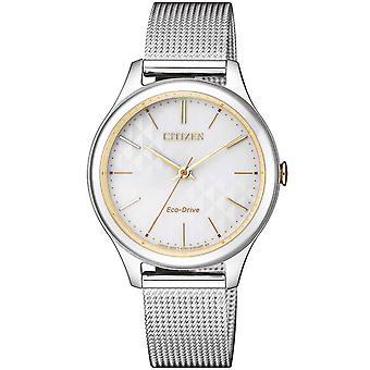Ladies Watch Citizen EM0504-81A, Kvarts, 32mm, 5ATM