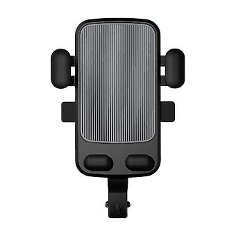 Bakeey m1 360° rotation mechanical lock motorcycle bicycle handlebar mobile phone holder stand for devices between 4.7-6.5 inch for redmi note 8