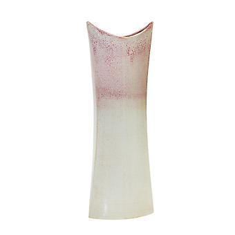 "Ceramica 23,5"" Vaso a borsa sirena, mix borgogna"