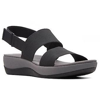 Clarks arla jacory sandálias mulheres pretas