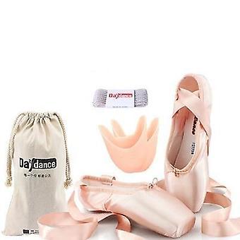 Ammatillinen Baletti Pointe Kengät Naiset Satiini Baletti Kengät