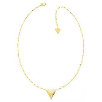 GÆT EKSPLOSION Gæt smykker - Triangle dor stål halskæde og Swarovski krystaller