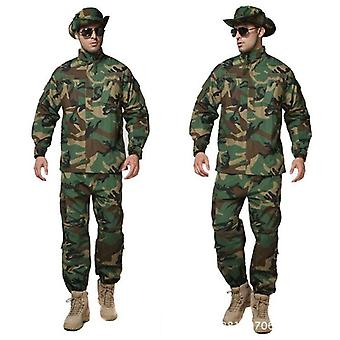 Militar Uniform Army Tactical Soldier Outdoor Combat Acu Camouflage Special