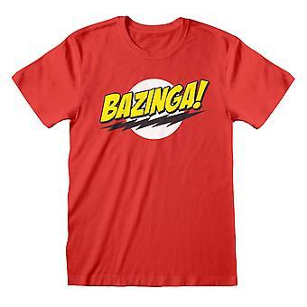 The Big Bang Theory Unisex Adult Bazinga T-Shirt
