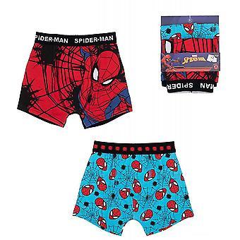 2er-Pack Boxer Unterwäsche Spider-Man