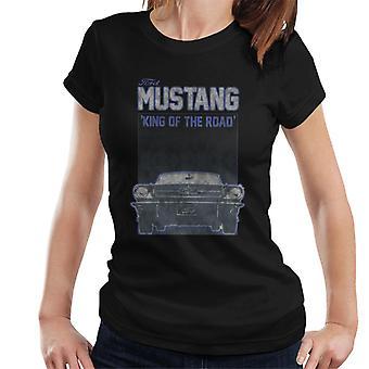 フォード マスタング キング オブ ザ ロード フロント ビュー ウィメンズ&アポス;s T シャツ