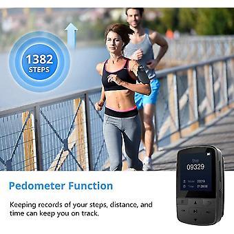 DZK Bluetooth MP3 Player 16GB Clip Sport Portable Lossless Sound Hi-Fi Music Player