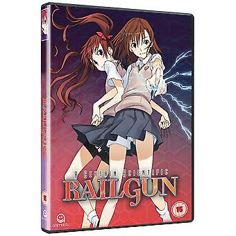 Niektóre Naukowe Railgun Complete Sezon 1 Collection (Odcinki 1-24) DVD