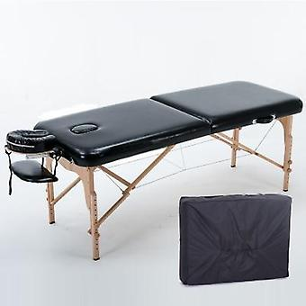 Mesa de masaje portátil 3 sección cama de sofá plegable todo incluido