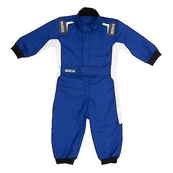 Detské závodné jumpsuit Sparco Eagle Modrá 6-9 Mesiacov
