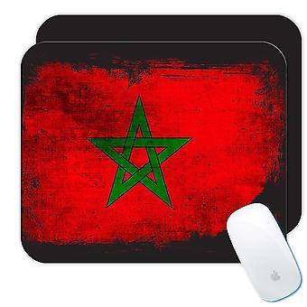 ギフトマウスパッド:モロッコの苦しんでいる