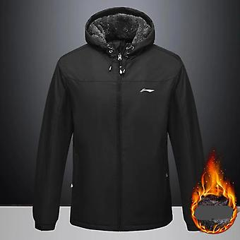 Men Autumn And Winter Sports Coat, Hooded Jacket