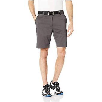 Essentials Men's Slim-Fit Stretch Golf Short, Schwarz, 36