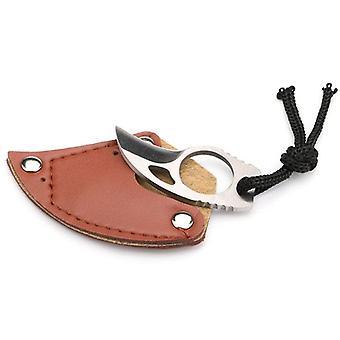 Self-defense Claw With Leather Sheath
