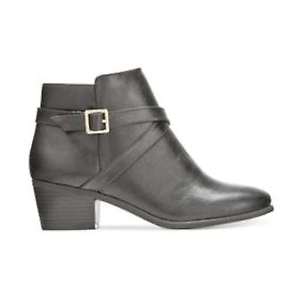 Karen Scott Womens FLYNNE Closed Toe Ankle Fashion Boots