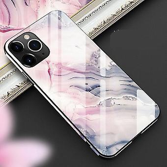 Gehärtetes Glas, Tpu hart Marmor-volle Schutzhülle für Iphone