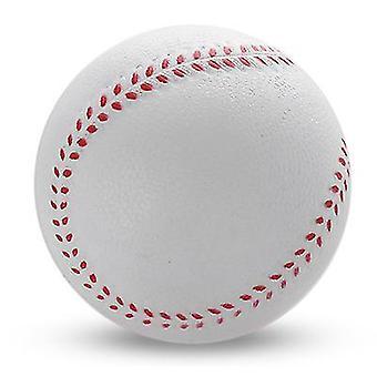 9Cm white pu sponge foam playing toy baseball x1542